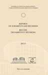 Reports of Judgments and Decisions / Recueil des arrets et decisions vol. 2012-I