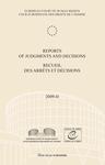 Reports of Judgments and Decisions / Recueil des arrets et decisions vol. 2009-II