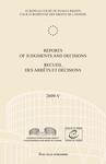 Reports of Judgments and Decisions / Recueil des arrets et decisions vol. 2009-V