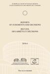 Reports of Judgments and Decisions / Recueil des arrets et decisions vol. 2010-I