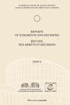 Reports of Judgments and Decisions / Recueil des arrets et decisions vol. 2010-V