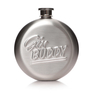 Tiny Book of Gin Hip Flask Gift Set
