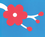 David Carter Pop-Ups: Blossom Blue