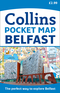 Collins Pocket Map Belfast