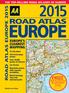 2015 Road Atlas Europe