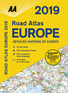 2019 Road Atlas Europe 2019