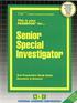 Senior Special Investigator