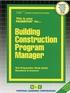 Building Construction Program Manager