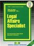 Legal Affairs Specialist