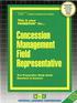 Concession Management Field Representative