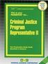 Criminal Justice Program Representative II