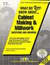 CABINET MAKING & MILLWORK