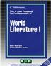 WORLD LITERATURE I