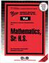 Mathematics, Sr. H.S.