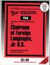 Foreign Languages, Jr. H.S.
