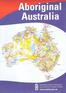 Aboriginal Australia Map - large flat