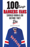 100 Things Rangers Fans Should Know & Do Before They Die Image