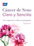 Cáncer de Seno Claro y Sencillo, Segunda Edición