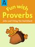 Fun With Proverbs