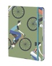 Cyclists - David Doran - Lined/Plain/Dot Grid