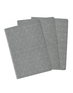Heko Lined/Plain/Dot Grid Cahiers 3 pack - Grey Medium