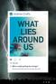 What Lies Around Us