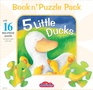 5 Little Ducks Book n' Puzzle Pack