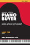 Piano Buyer Model & Price Supplement / Fall 2020