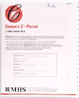 Conners 3-P Response Booklet Eng (25/pkg)