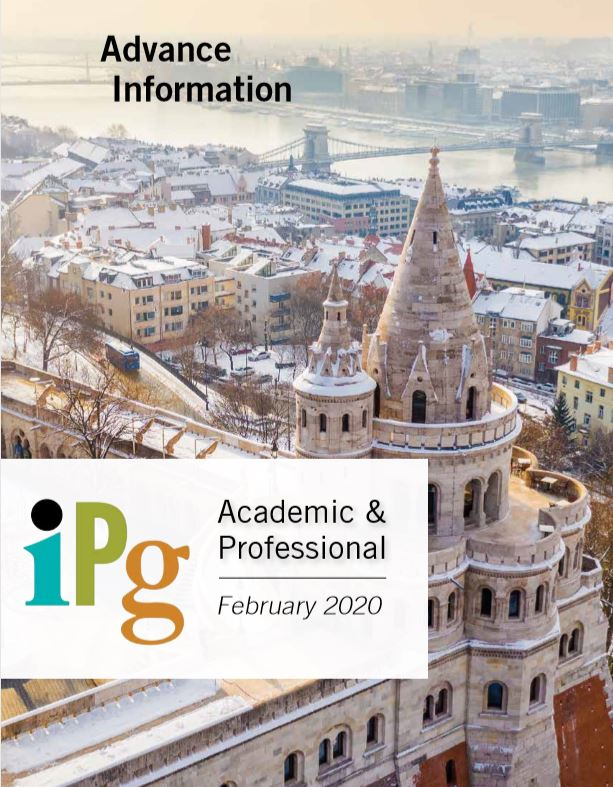 IPG Academic and Professional Publishing Advance Information November 2019